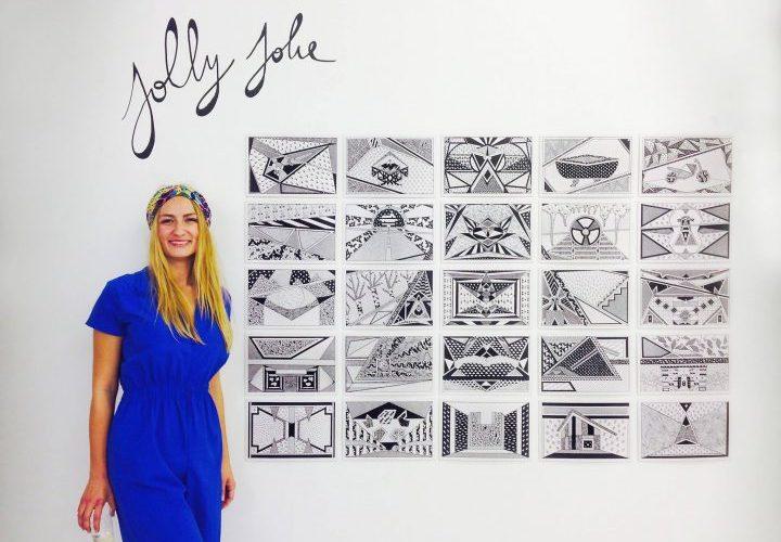 Jolly Jolie by Caroline Derveaux-Berté