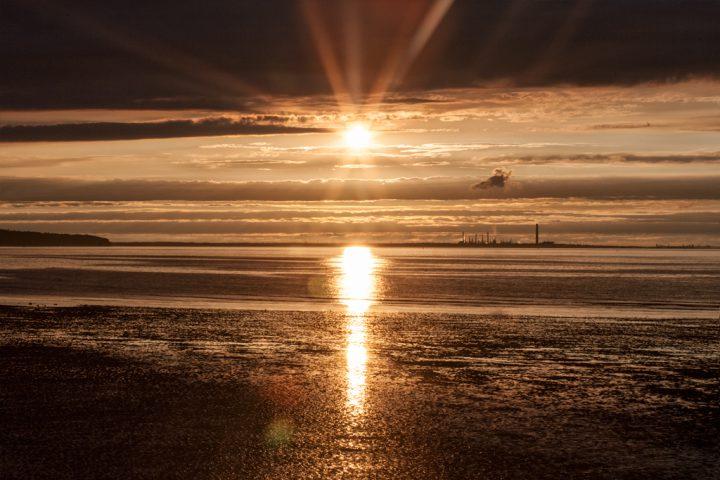 Ryde, Isle of Wight sunset