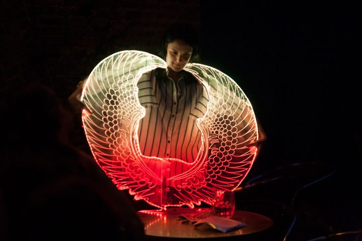 bex ilsley acrylic light wings