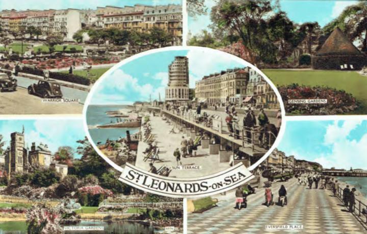 Marine Court postcard