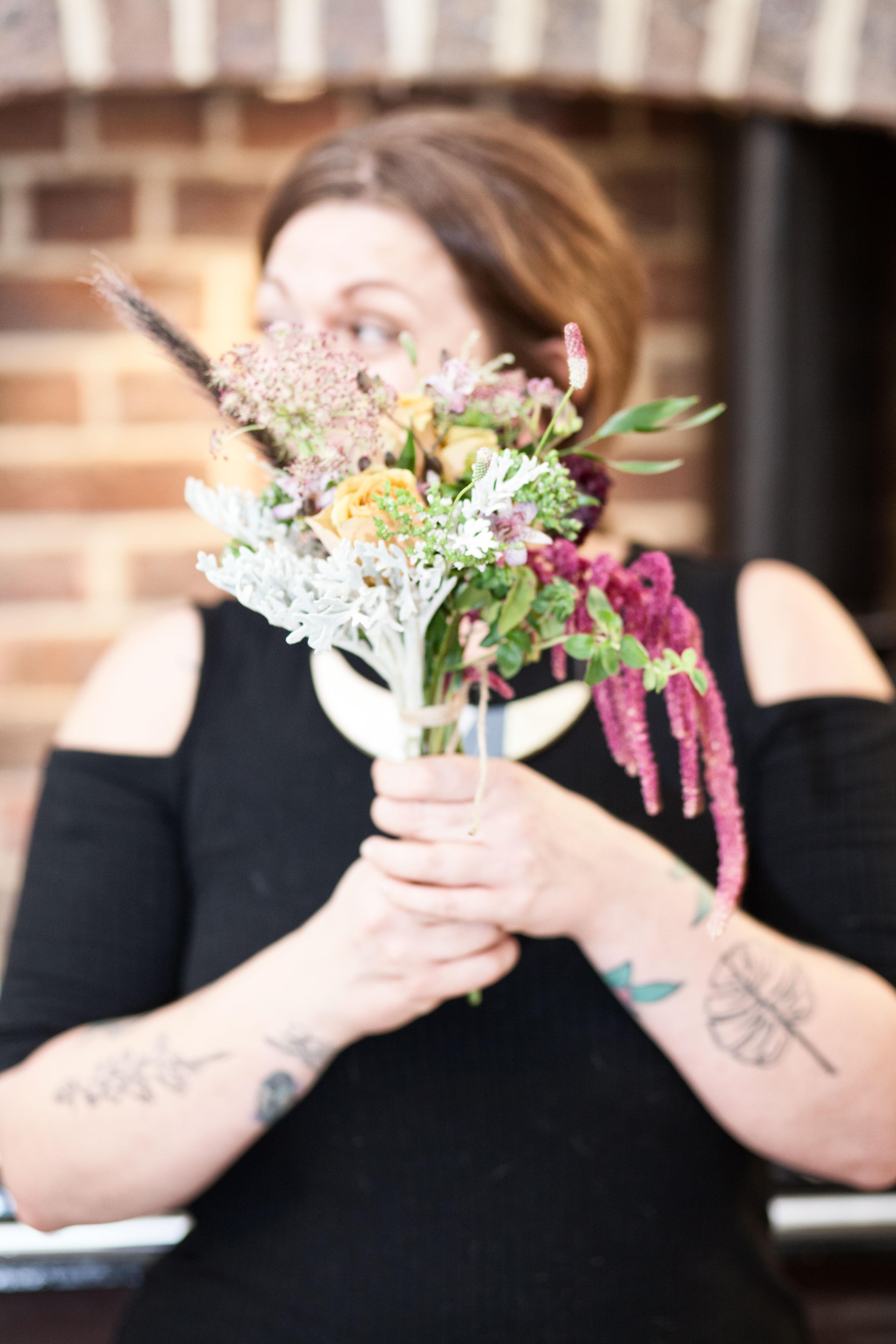 Wild Renata Flowers for Stylist Magazine