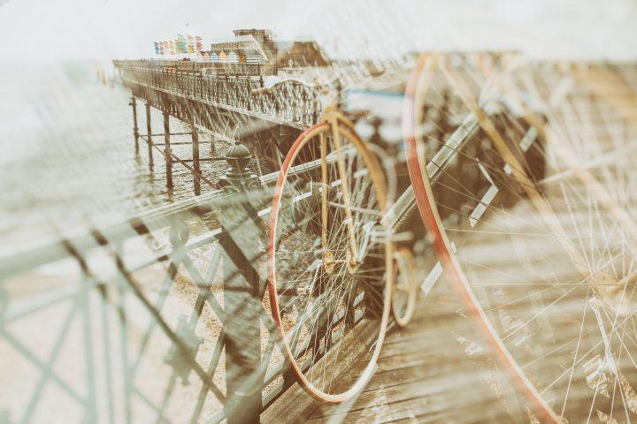 Penny Farthing Hastings Pier