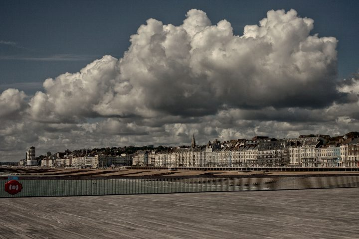 St Leonards clouds from Hastings Pier