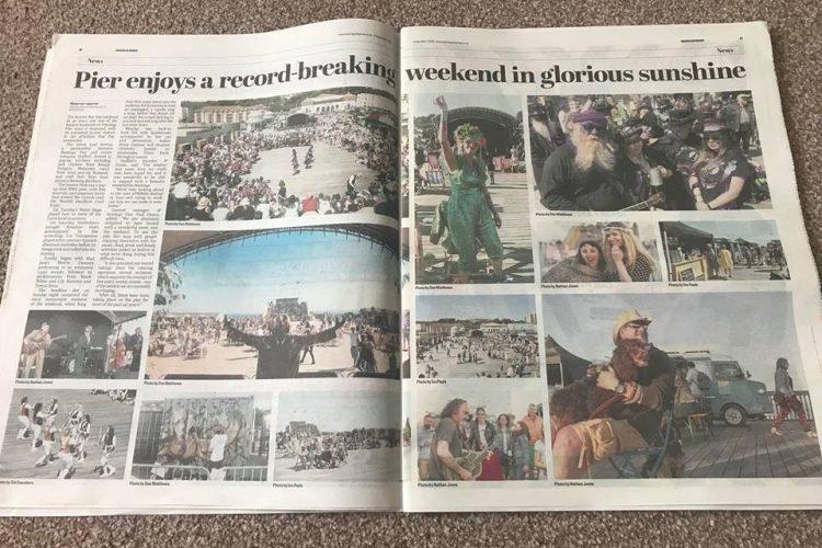 Hastings Observer aPIERtite by Nathan Thomas Jones