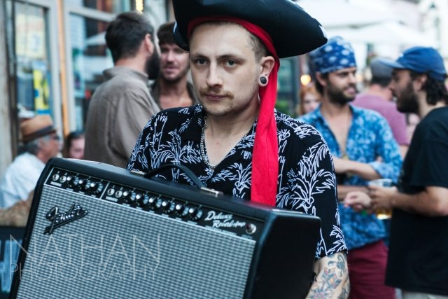 Pirate Day, Hastings, George Street